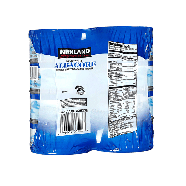 Kirkland Signature Solid White Albacore Tuna in Water (8 ct. - 7 OZ)