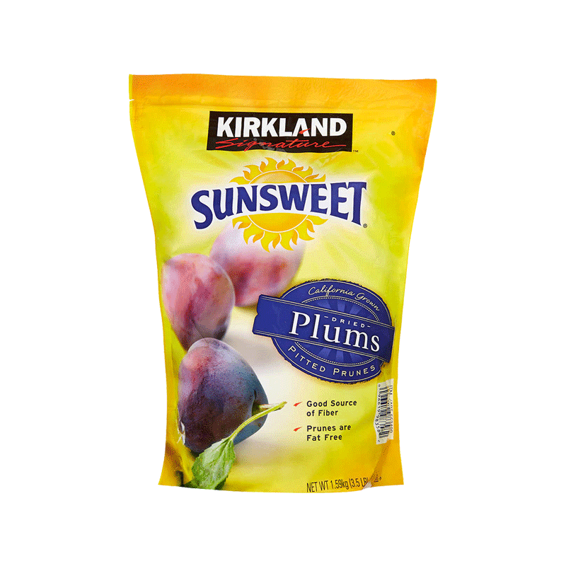 Kirkland Signature Sunsweet Whole Dried Plums (3.5 lbs)