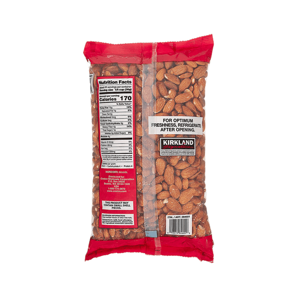 Kirkland Signature Supreme Whole Almonds (3 lbs)