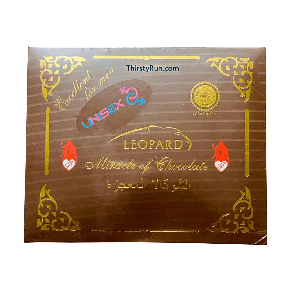 Leopard Miracle Of Chocolate (12 Sachets - 20 G)