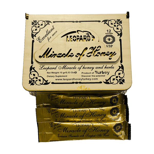 Leopard Miracle Royal Honey (12 Sachets - 15 G)