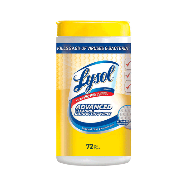 Lysol Advanced Cleaning Disinfecting Wipes Variety Pack (5 PK - 72 each)