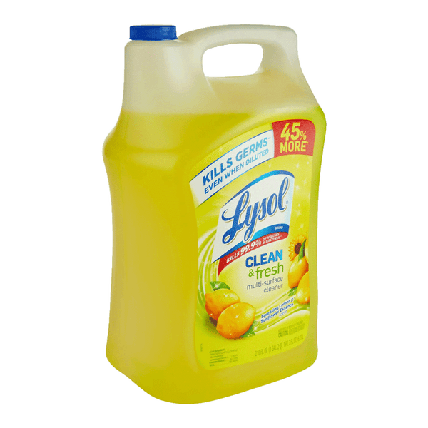 Lysol Clean & Fresh Multi-Surface Cleaner (210 OZ)