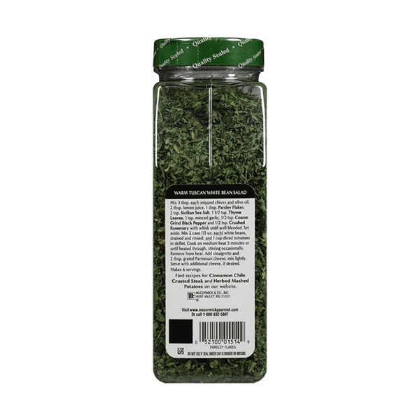McCormick Gourmet Parsley Flakes (2.5 OZ)