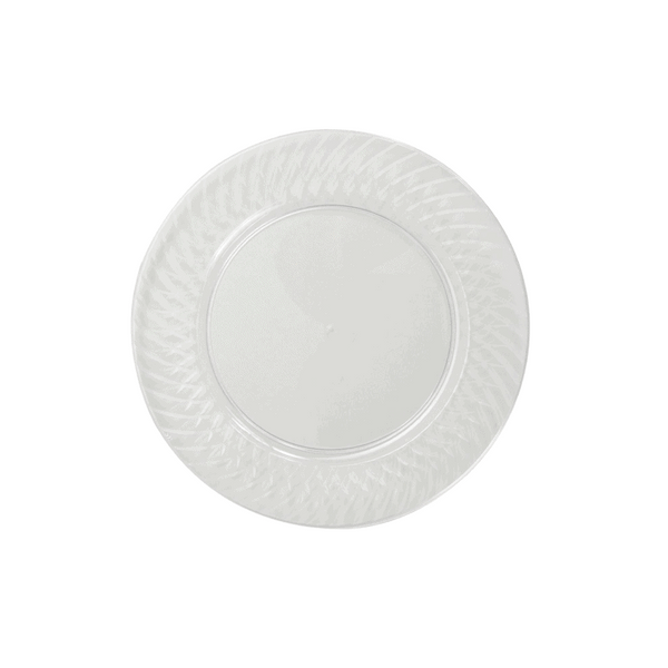 Member's Mark Clear Plastic Plates (110 ct. - 6.25