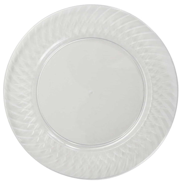 Member's Mark Clear Plastic Plates (55 ct. - 9