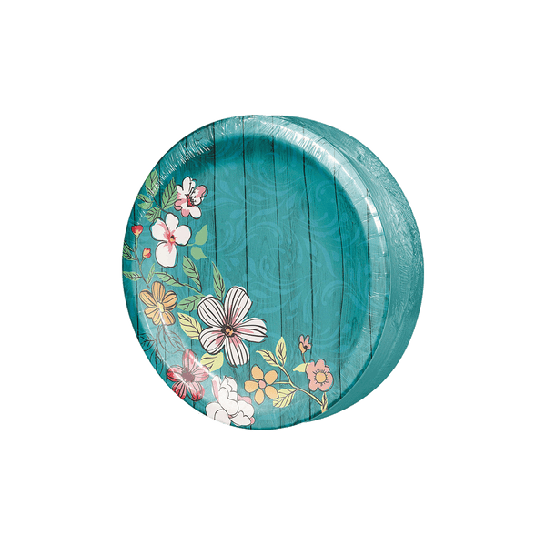 Member's Mark Farmhouse Floral Paper Plates  (90 ct.)