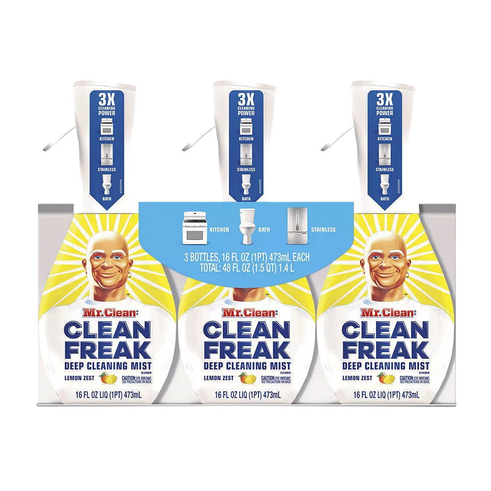 Mr. Clean Lemon Zest Clean Freak Multi-Surface Spray