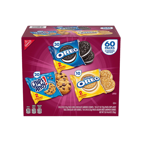 Nabisco Cookie Variety Pack (60 PK)
