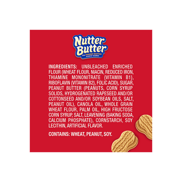 Nabisco Nutter Butter Cookies ( 24 PK - 1.9 OZ)