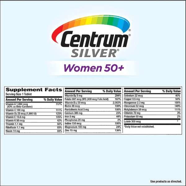Centrum Silver Women 50+ (275 ct.)