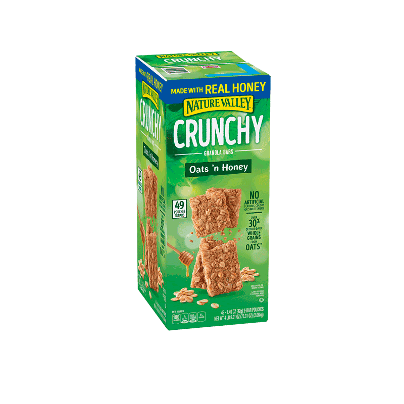 Nature Valley Oats 'n Honey Crunchy Granola Bars (49 ct. - 2 PK)