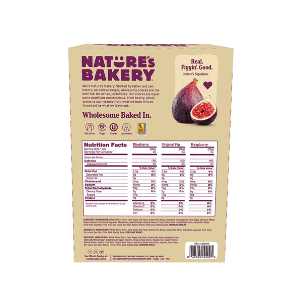 Nature's Bakery Fig Bar Variety Pack (36 ct -OZ)