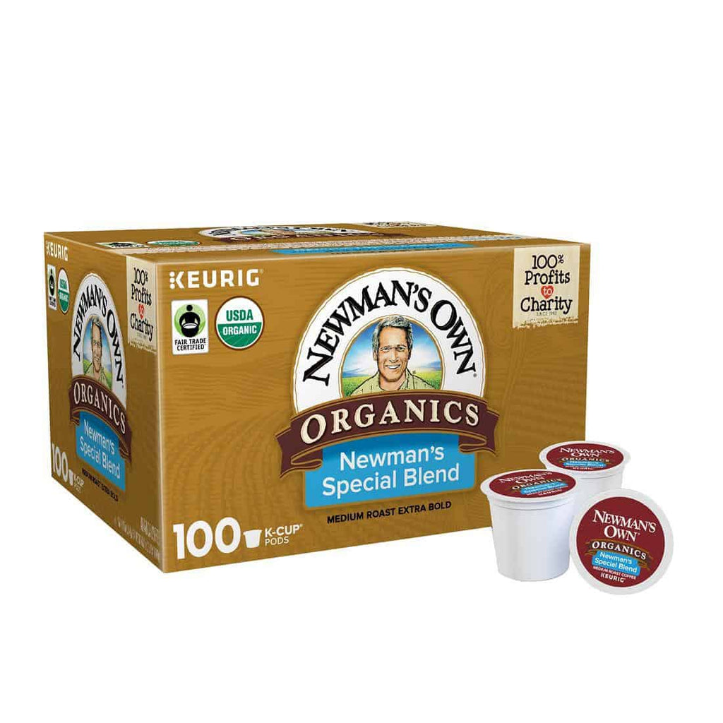 Newman's Own Organics Special Blend Medium Roast Coffee K-Cup Pods (100 ct.)