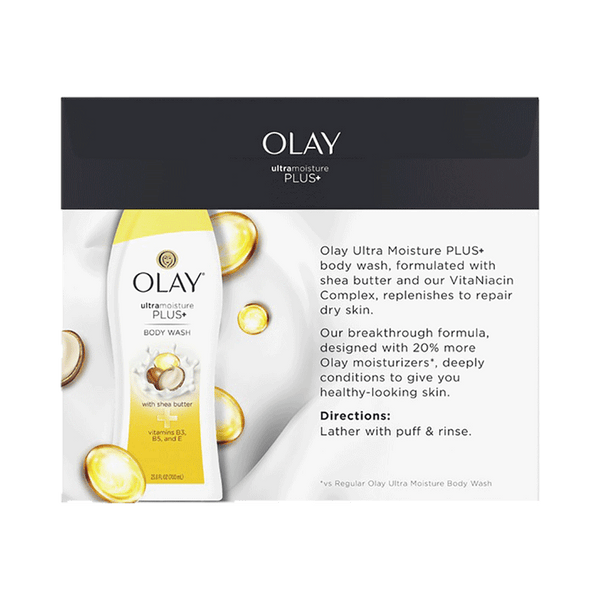 Olay Ultra Moisture Plus Body Wash (3 PK - 23.6 OZ)