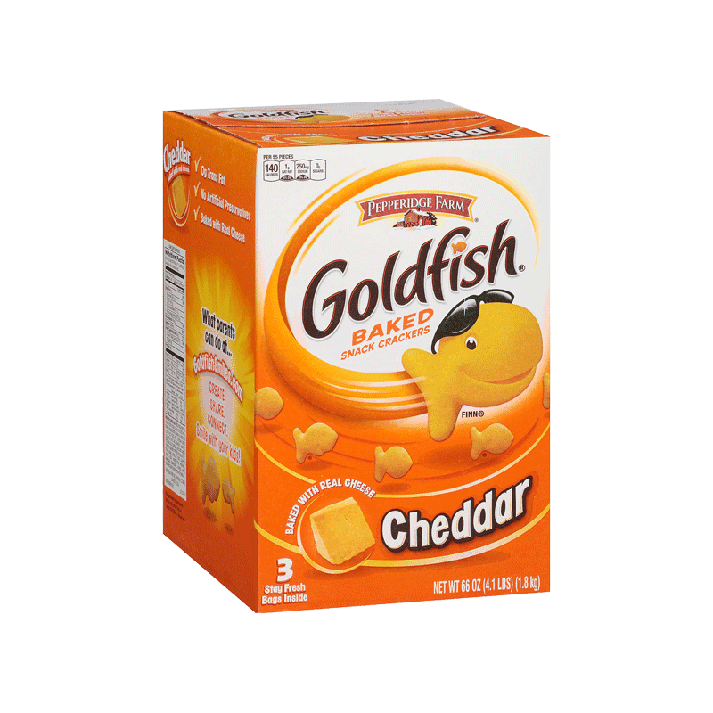 Pepperidge Farm Goldfish Crackers (3 Pk - 22 OZ)