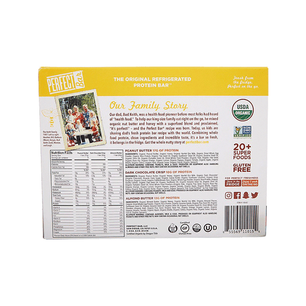 Perfect Foods Organic Variety Pack (12 ct)