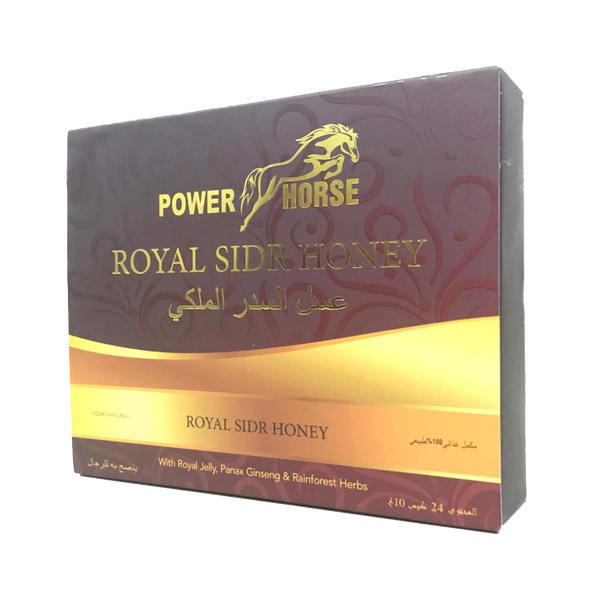 Power Horse Sidr Royal Honey (24 Sachets - 10 G)