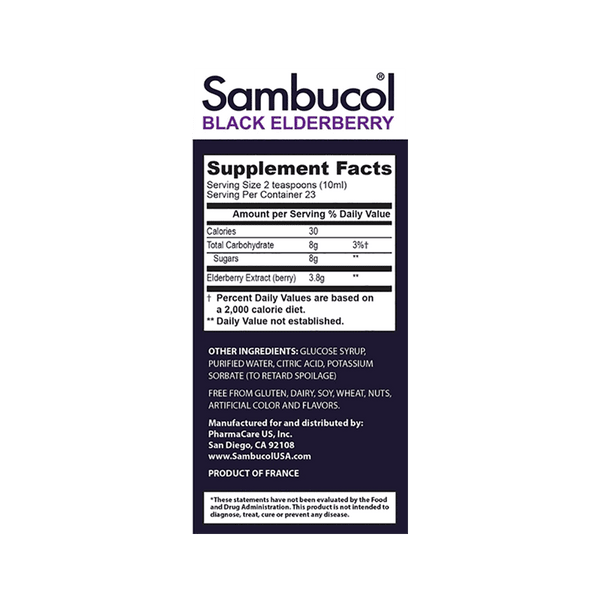 Sambucol Black Elderberry Syrup (15.6 OZ)