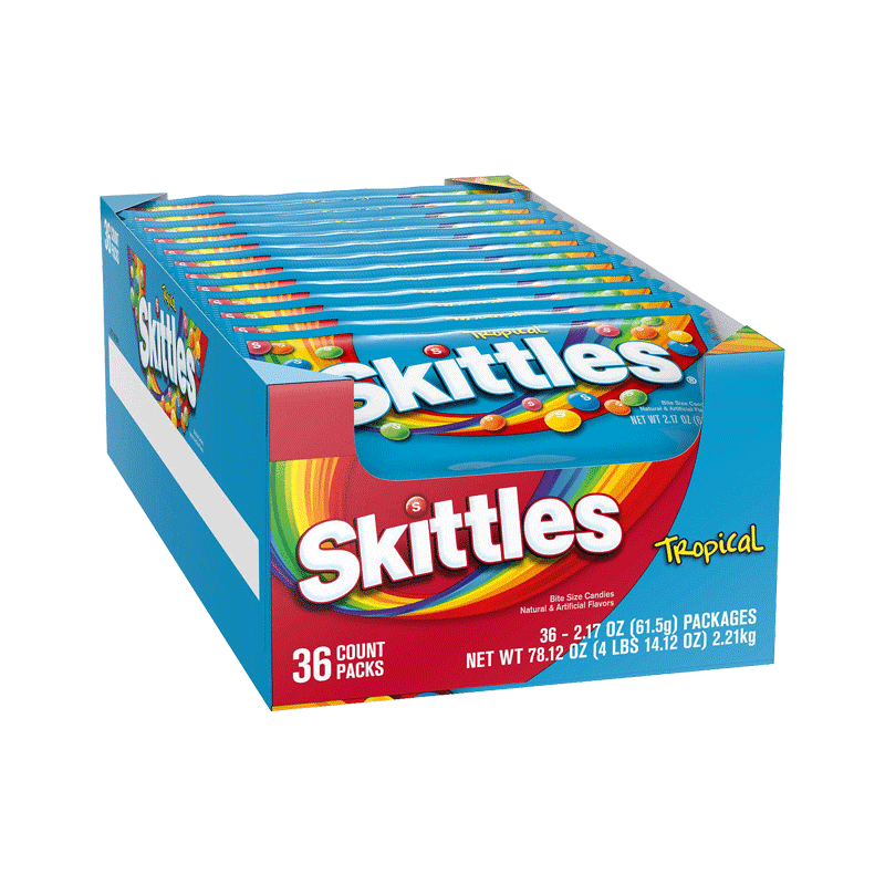 Skittles Tropical (36 ct. - 2.17 OZ)
