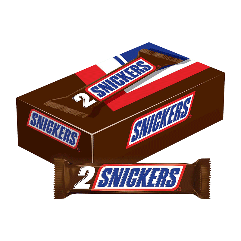 Snickers Candy Bar - King Size (24 ct. - 3.29 OZ. EA)