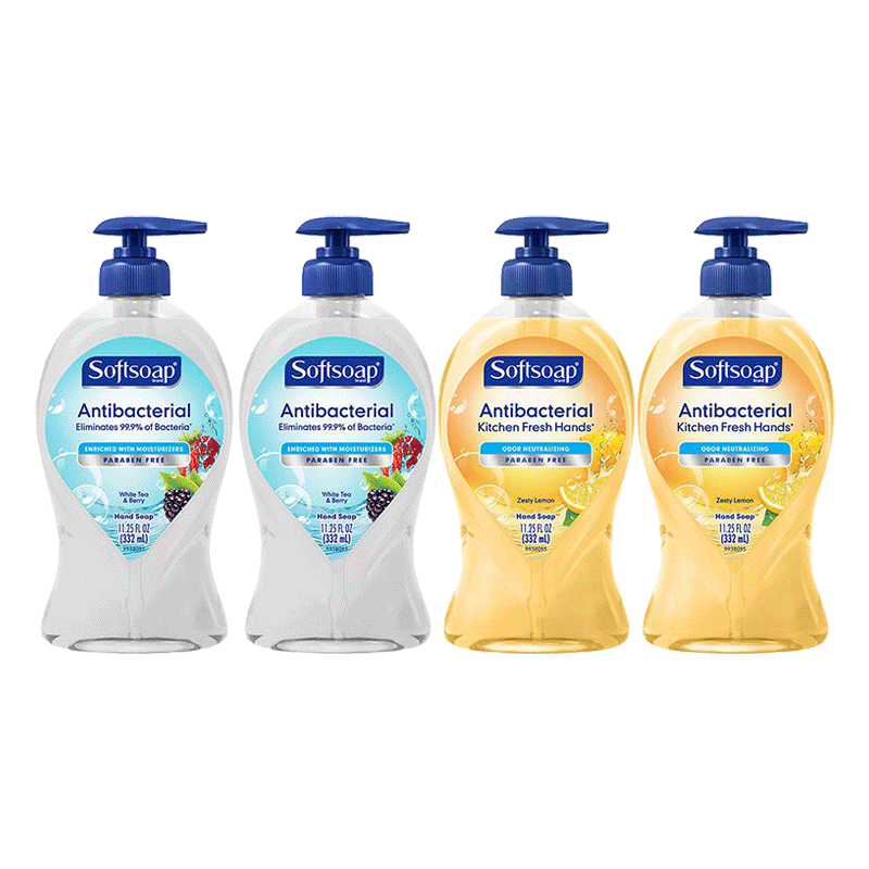 Softsoap Liquid Hand Soap Variety Pack (4 PK -11.25 OZ)