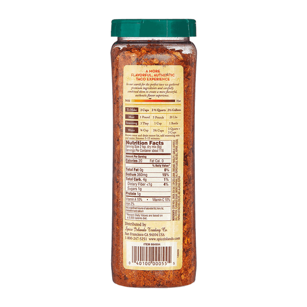 Spice Islands Premium Taco Seasoning (24.5 OZ)