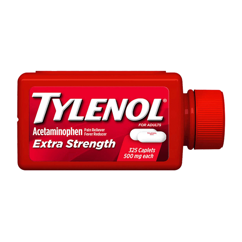 Tylenol Extra Strength Caplets (325 ct - 500 mg)