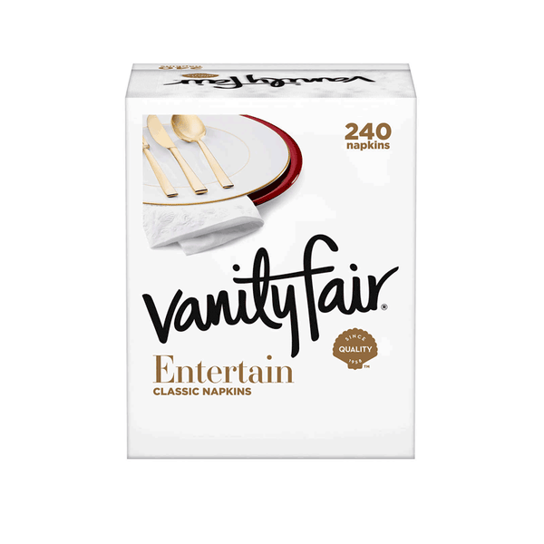Vanity Fair Entertain Napkin 3-Ply (4 PK - 60 ct.)