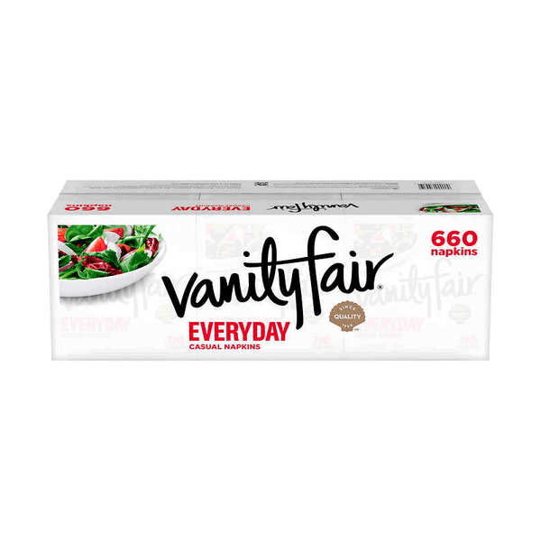 Vanity Fair Everyday Napkin 2-Ply (6 PK - 110 ct. )
