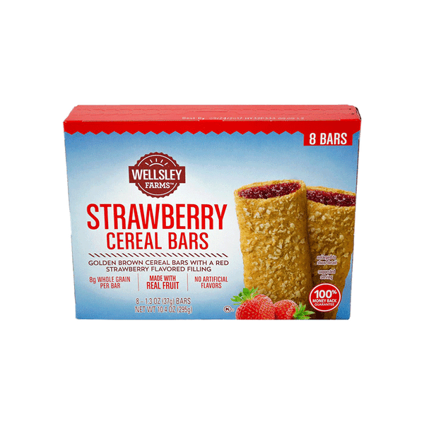 Wellsley Farms Fruit & Grain Cereal Bars Variety Pack (48 ct.)