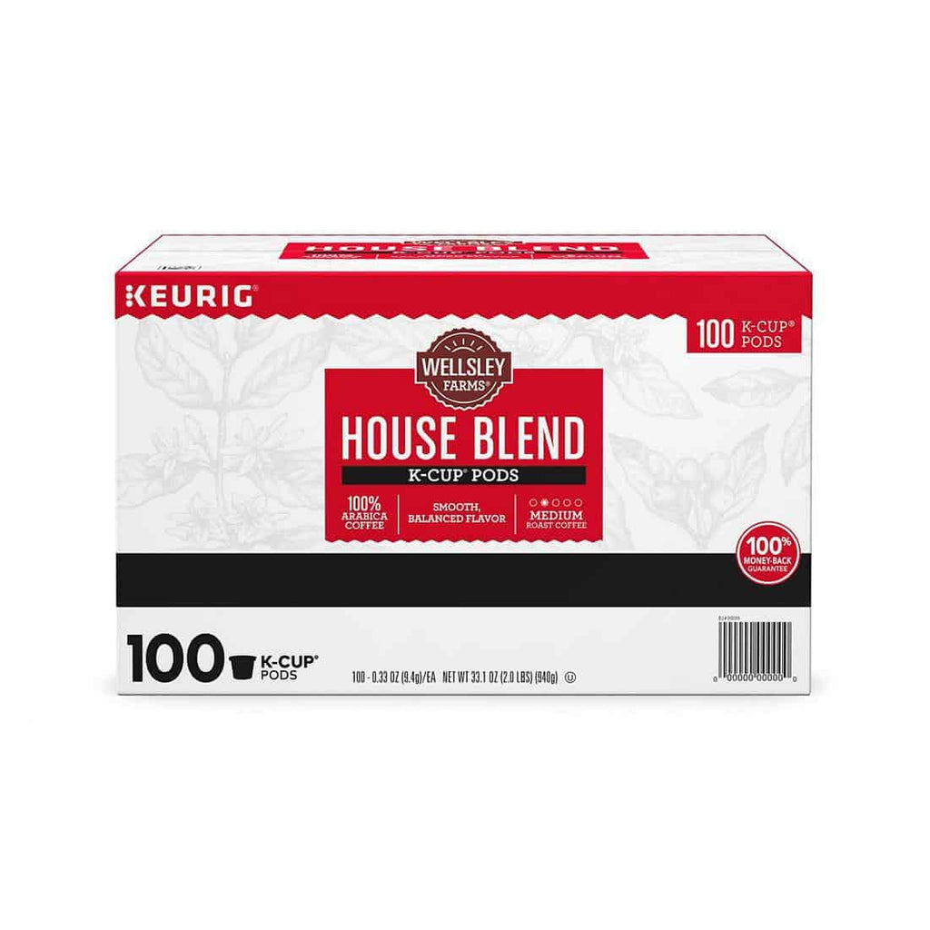 Wellsley Farms House Blend K-Cup Packs (100 ct.)