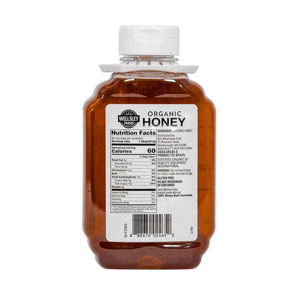 Wellsley Farms Organic Honey (3 ct. - 24 OZ)