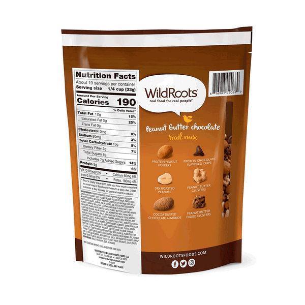 WildRoots Peanut Butter Chocolate Trail Mix (24 OZ)