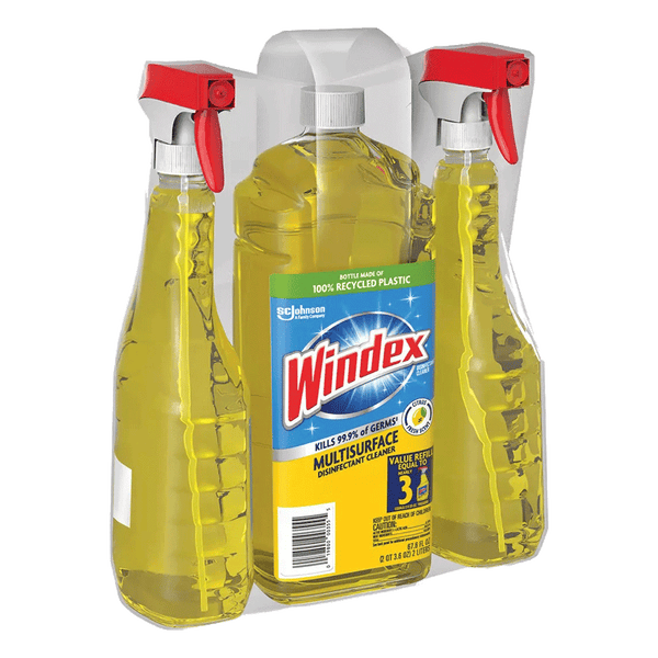 Windex Multi-Surface Disinfectant Cleaner (3 ct - 120 oz Total)