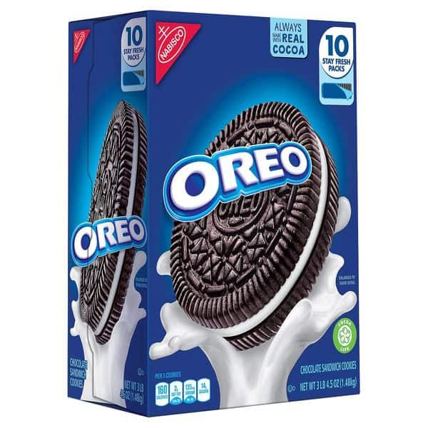 Nabisco Oreo Cookies (10 ct. - 5.25 OZ)