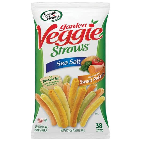 Sensible Portions Garden Veggie Straws (25 OZ)