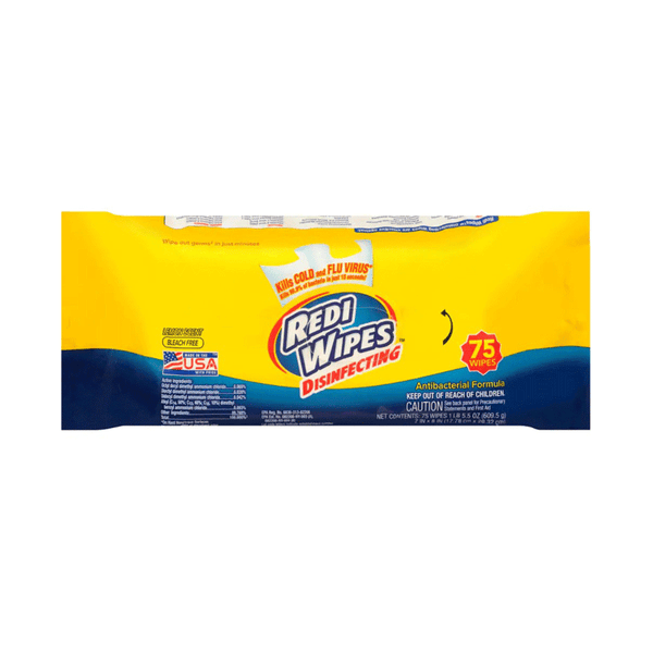 Redi Wipes Lemon Disinfecting Wipes (75 Each)