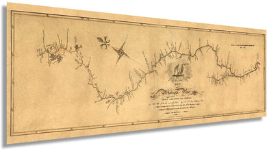 1811 Map of the Mississippi River