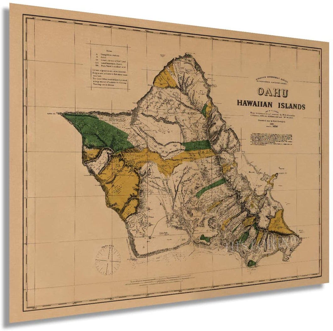 1881 Oahu, Hawaiian Islands
