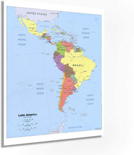 Load image into Gallery viewer, 2006 Map Latin America