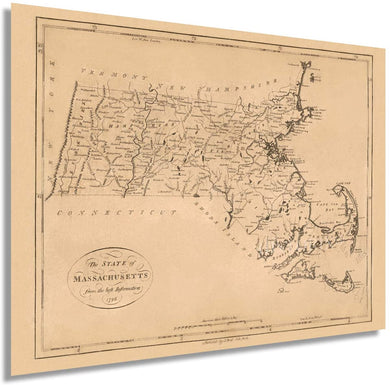 1796 The state of Massachusetts