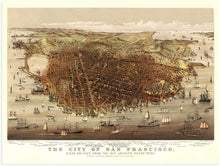 Load image into Gallery viewer, 1878 The city of San Francisco