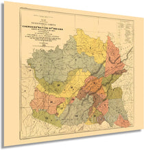 Load image into Gallery viewer, HISTORIX 1884 Map of The Cherokee Nation of Indians