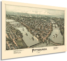 Load image into Gallery viewer, 1902 Pittsburgh, Pennsylvania