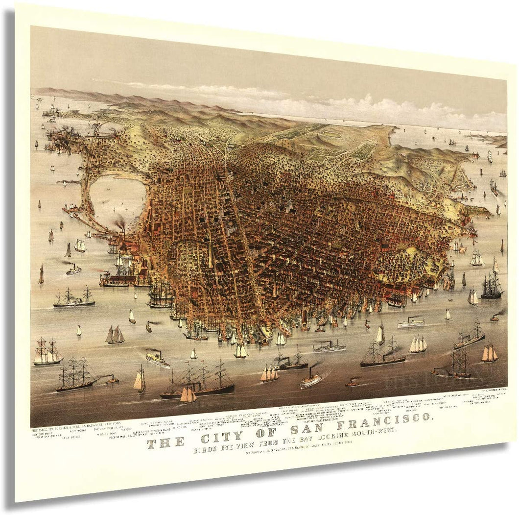 1878 The city of San Francisco