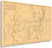 Load image into Gallery viewer, 1867 Old Territory and Military Department of New Mexico