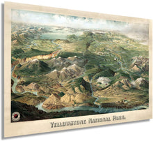 Load image into Gallery viewer, 1904 Yellowstone National Park