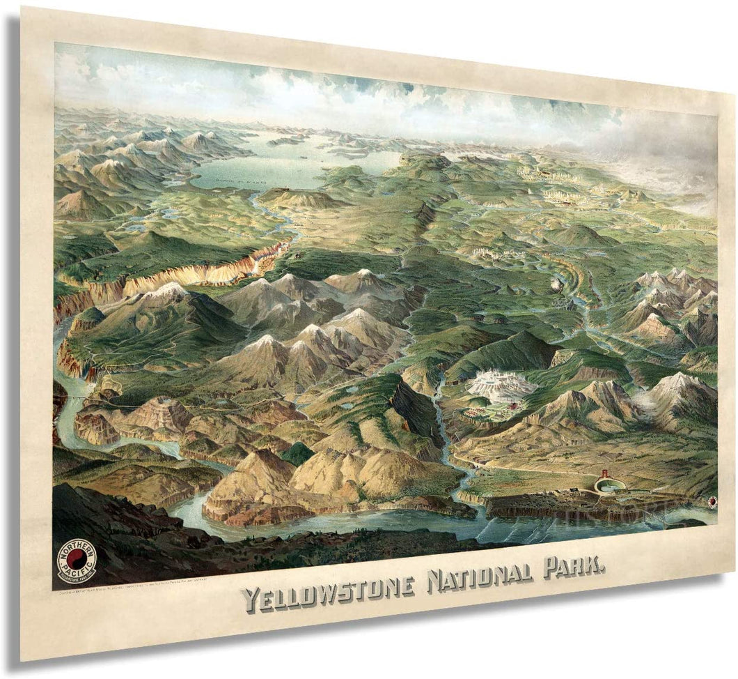 1904 Yellowstone National Park