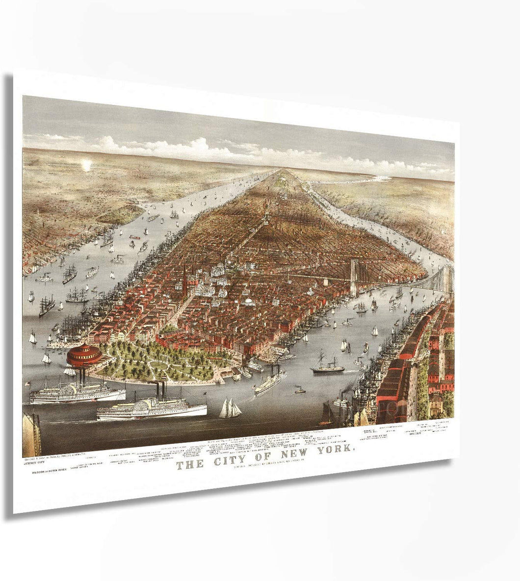 1876 The city of New York